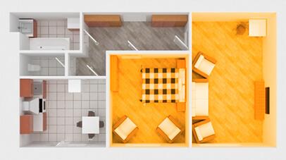 уничтожение клопов 1 комнатной квартире
